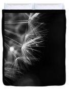 Dandelion 2 Bw Duvet Cover