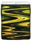 Dandelion Abstract Duvet Cover