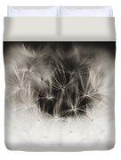 Dandelion Close-up Duvet Cover