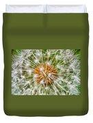 Dandelion Explosion Duvet Cover
