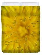 Dandelion Flower Macro Duvet Cover