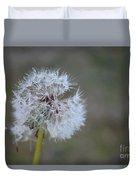 Dandelion Frost Duvet Cover
