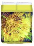 Dandelion Harvest Duvet Cover