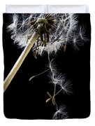 Dandelion Loosing Seeds Duvet Cover