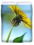 Dandelion Reaching High Duvet Cover