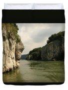 Danebu Gorge  Duvet Cover