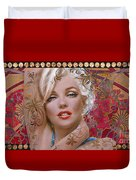 Danella Students 2 Red Duvet Cover