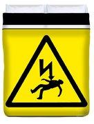 Danger Electricity Duvet Cover