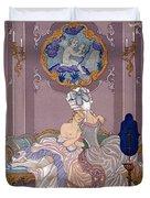 Dangerous Liaisons Duvet Cover by Georges Barbier