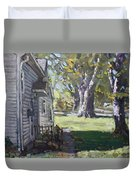 Daniel's House In Bloomington Mn Duvet Cover