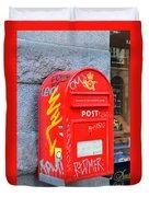 Danish Mailbox Duvet Cover