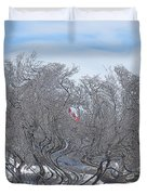Dans Le Vent / In The Wind Duvet Cover