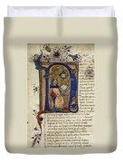 Dante: Divine Comedy Duvet Cover