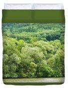 Danube Green Duvet Cover