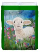 Flying Lamb Productions     Daphne Star In The Tall Grass Duvet Cover