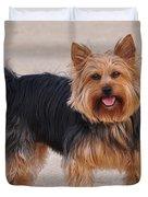 Dapper Dog Duvet Cover