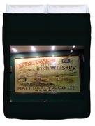 D'arcy's Old Irish Whiskey Duvet Cover