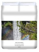 Dare To Loove Yourself Duvet Cover