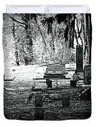 Dark As The Grave Duvet Cover