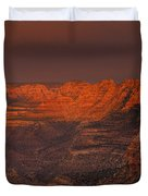 Dark Canyon Wilderness Duvet Cover