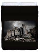 Dark Castle Duvet Cover by Carlos Caetano