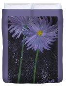 Dark Floral  Duvet Cover