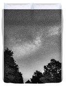 Dark Forest Night Light Duvet Cover