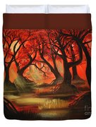 Dark Forest Duvet Cover