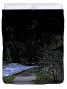Dark Path Duvet Cover