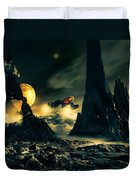 Dark Planet Duvet Cover