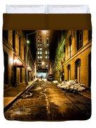 Dark Street Duvet Cover