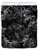 Dark Summer Woods Duvet Cover