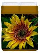 Dark Sunflower Duvet Cover