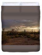 Dark Sunset Duvet Cover