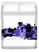 Dark Turbulence Duvet Cover