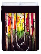 Dark Woods Duvet Cover