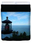 Darkened Lighthouse Duvet Cover