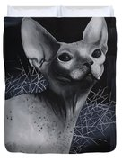 Darkness Cat Duvet Cover