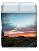 Darkness Ends Duvet Cover