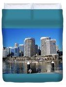 Darling Harbour Sydney Australia Duvet Cover