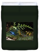 Dart Frogs On The Move Duvet Cover