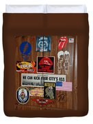 Dartboard Box Duvet Cover