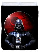 Darth Vader And Death Star Duvet Cover
