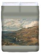 Dartmoor The Source Of The Tamar And The Torridge Duvet Cover