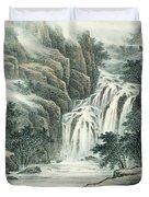 Dashan Waterfall Duvet Cover