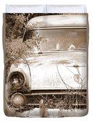 Dashboard Jesus Duvet Cover