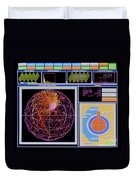 Data Capture, Sudbury Neutrino Duvet Cover