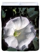 Datura Lily Duvet Cover