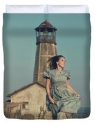 Daughter Of The Lighthouse Keeper Duvet Cover