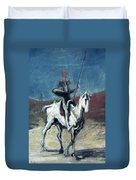 Daumier: Quixote, 19th C Duvet Cover